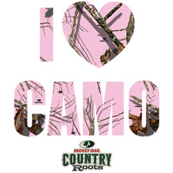 Wholesale Country T Shirts - Pink Camo - 20871HD2-1