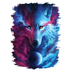 Men's Women's Adult Fashion Colors Wolf Design T-Shirts & Shirt Designs, Custom T-Shirts, Wholesale Bulk T Shirts Cheap - 21269HD2