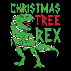 Bulk, Custom Personalized Chrismas Tree Rex T Shirts Apparel, Wholesale T Shirts, Bulk T Shirts, Miscellaneous T-Shirts - 21518EM2-1