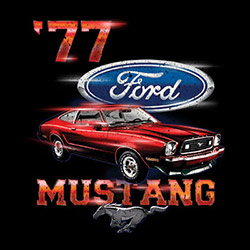 Wholesale Clothing - Custom Personalized 77 Ford Mustang T Shirts Apparel, Wholesale T Shirts, Bulk T Shirts, Miscellaneous T-Shirts - 21532D1-1