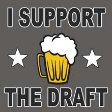 Wholesale Funny Support the Draft Beer Drinking Products T Shirts Hats for Resale Online - 22417