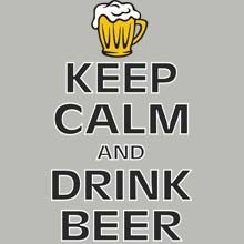 Wholesale Funny Keep Calm Beer Products T Shirts Hats for Resale Online - 22435