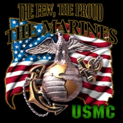 Wholesale T Shirts, Wholesale Hats, Military T Shirts Cheap Online Sale At Wholesale Prices - 4324 USMC