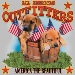 Men's Women's Adult Wholesale Bulk Shirts America the Beautiful Puppies Miscellaneous T Shirts For Sale - 4643_t_rp-400x400