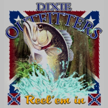 Wholesale Dixie Outfitters Fishing T Shirts, Gildan T Shirts, Printed T Shirts, Bulk T Shirts - 4812L