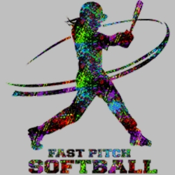 Wholesale Fast Pitch Softball T Shirts, Gildan T Shirts, Printed T Shirts, Bulk T Shirts - 5047V2