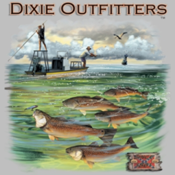 Wholesale Dixie Outfitters Redfish T Shirts, Gildan T Shirts, Printed T Shirts, Bulk T Shirts - 6101L
