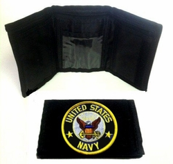 Military, Wholesale, Bulk, Buy, Sell, 687WLT2 Navy. Military Wallet