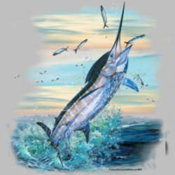 Wholesale Salt Water Fishing T Shirts, Gildan T Shirts, Printed T Shirts, Bulk T Shirts - 6962