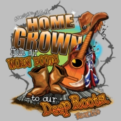 Wholesale Country Southern Boots T Shirts, Gildan T Shirts, Printed T Shirts, Bulk T Shirts - 7298