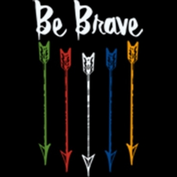 Bulk, Apparel - Wholesale T Shirts - Wholesale Boutique Clothing, Be Brave Arrows Patriotic T Shirts, Wholesale, Bulk, Supplier - MSC Distributors - a10008d