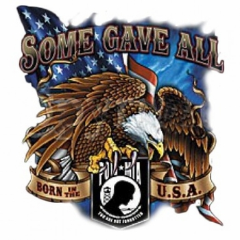 Custom Personalized Pow Mia Patriotic T Shirts, Wholesale, Bulk, Supplier - MSC Distributors - A6687E