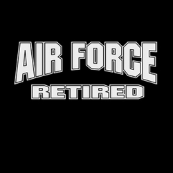 T-Shirts Wholesale,Funny Air Force Retired Clothing Wholesale T-Shirts - A8123G