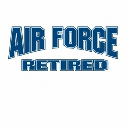 T-Shirts Wholesale,Funny Air Force Retired Clothing Wholesale T-Shirts - A8126E
