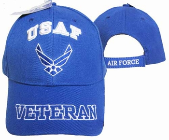 Caps Hats US Air Force Veteran Caps - CAP593EA