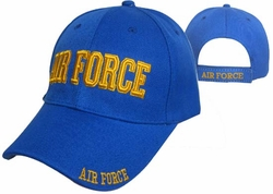 Wholesale Military Hats - CAP603DG AIR FORCE Cap blue
