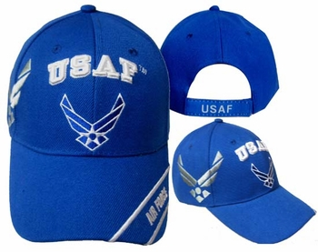Shop Air Force Military Caps And Hats Cheap Wholesale Online Drop Shipping - CAP603T USAF & AF Wings Cap