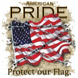 Wholesale Clothing Apparel - Custom Personalized American Pride Patriotic T Shirts, Wholesale, Bulk, Supplier - MSC Distributors - a10487f