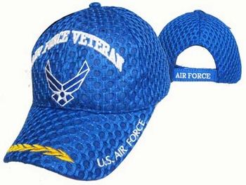 Wholesale Headwear, Military Discount Style Ball US Air Force Fitted Hat usaf Camo Retired Baseball Hats Caps -  AF Wings Veteran Cap - CAP593AA AF Wings Veteran Cap