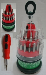 Wholesale Suppliers Wholesalers, Products - TL419. 31-in-1 Precision Screwdriver Set in Case