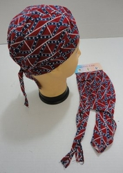 Rebel Skull Caps, Baseball Caps Hats Wholesale Bulk Suppliers - BN108. Skull Cap-Small Rebel Flag