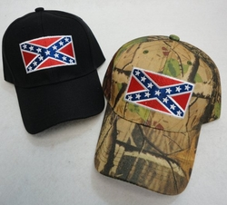 Rebel Flag Baseball Caps Hats Wholesale Bulk Suppliers - HT207. Black Camo Hat [Rebel Flag]