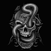 Wholesale Funny Skull Cobra Products T Shirts Hats for Resale Online - 22275n