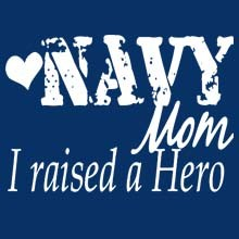 Wholesale Navy Mom, Military Patriotic T Shirts Suppliers, Bulk - MSC Distributors
