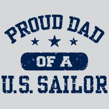 US Navy Proud Dad Anchor T Shirts Designs, Apparel, Wholesale, Bulk, Supplier - MSC Distributors