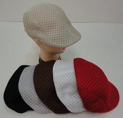 Wholesale Fashion Hats - HT810. Summer Mesh Golf Hat-Assorted Colors