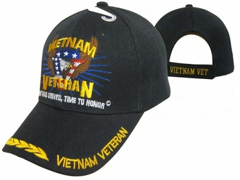 Wholesale US Military Hats, Wholesale Military Caps - CAP607D Veteran V Eagle