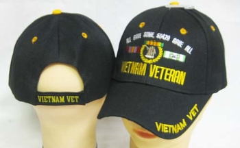 Vietnam Veteran Hats and Caps - MSC Distributors - Wholesale CAP607BA
