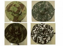 Wholesale Convenience Store Supplies - CAMO BUCKET CORD HAT