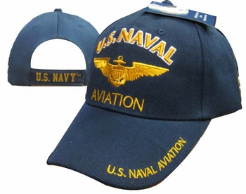Wholesale Military Hats and Caps Suppliers - CAP602Y Navy Aviation Cap
