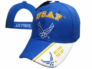 Wholesale US Air Force Hats Caps - CAP603MA USAF & AF Logo Cap