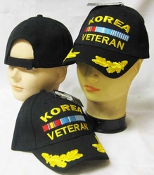 Wholesale Korea Veteran Hats - CAP777 Korean Vet Cap Bk