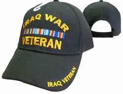 Wholesale US Military Hats, Wholesale Military Caps - CAP781A IRAQ Veteran Cap B