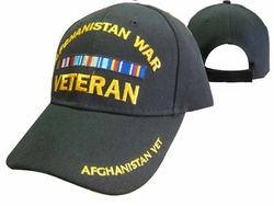 Wholesale US Military Hats, Wholesale Military Caps - CAP782A AFGHANISTAN Veteran Cap B