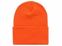 Wholesale Convenience Store Supplies - BLAZE ORANGE KNIT CAP