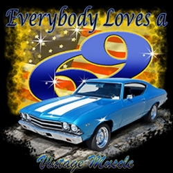 Wholesale Clothing Apparel -  Bulk, Classic Car T-Shirts, Chevelle T-Shirts, Wholesale Dixie Outfitters - 5568