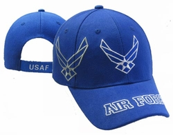 Wholesale US Air Force Hats Caps - CAP603V AF Wings Shadow AF Bill Cap