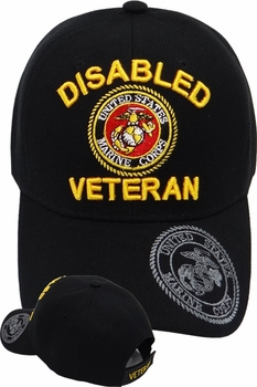 Wholesale Military Hats - MI-207 Disabled Marine Veteran