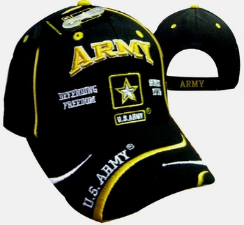 Cheap Wholesale Military Hats and Caps - Apparel Suppliers In Bulk - ECAP491b. Military Embroidered Acrylic Caps