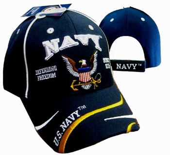 Cheap Wholesale Military Navy Hats and Caps - Apparel Suppliers In Bulk - ECAP496b. Military Embroidered Acrylic Caps