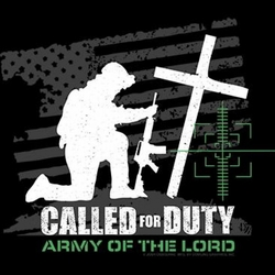 Wholesale Clothing - Custom Personalized Army Of The Lord Christian Shirt Black Religious T-Shirt, Apparel, Clothing Suppliers, Military T Shirts, Wholesale, Bulk - A9058C