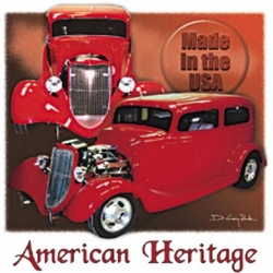 Wholesale, Classic Car Clothing, T Shirts Women�s Men's Muscle Vintage Apparel - MSC Distributors