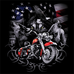 Men's Women's Adult Bulk Biker T-shirts Wholesale Cheap For Sale Discount Tees - MSC Distributors