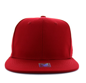 599f273f112 Hats Caps Clothing Apparel Headwear Wholesale Bulk Fashion Men s Women s -  Blank Cotton Snapback (Solid Red) - SP028-04