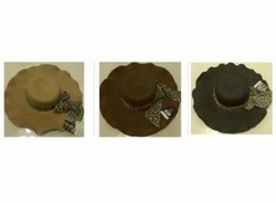Wholesale Convenience Store Supplies - CURVY HAT LEAPARD RIBBON