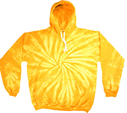 olortone Youth & Adult Tie Dye Pullover Hoodie - Spider Gold - MSC Distributors